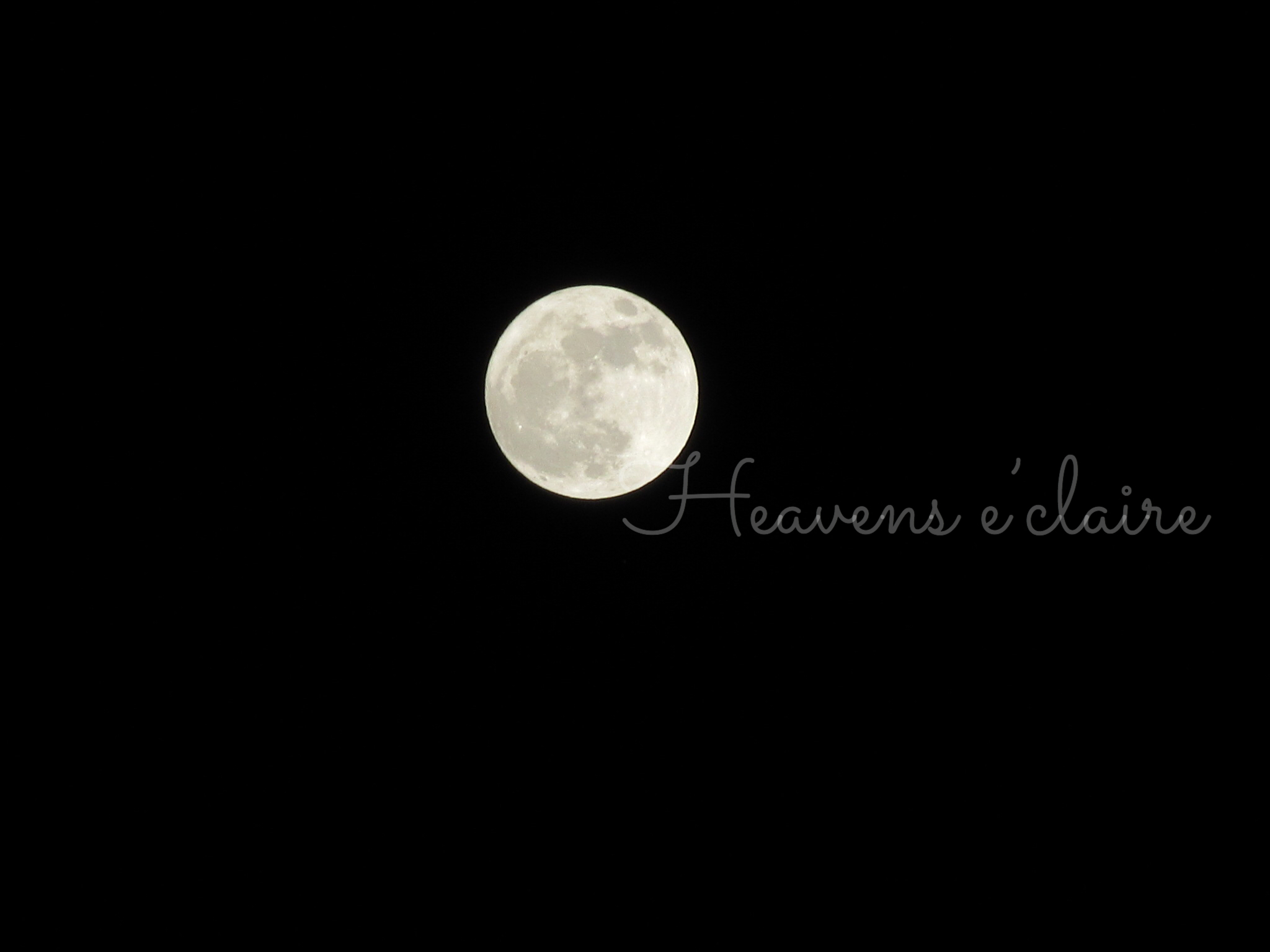ヘヴンズエクレール 月